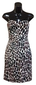 Trina Turk short dress Strapless Giraffe Print on Tradesy