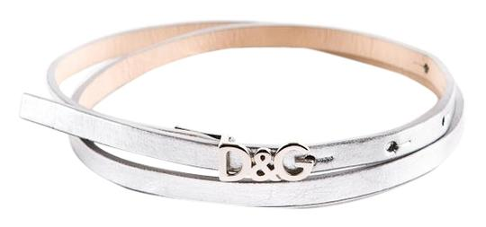 Preload https://img-static.tradesy.com/item/4200946/dolce-and-gabbana-silver-d-and-g-logo-dolce-and-gabbana-leather-belt-0-0-540-540.jpg