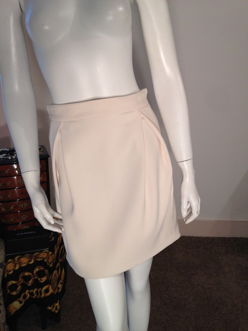 Roberto Cavalli Mini Just Designer Mini Skirt Cream