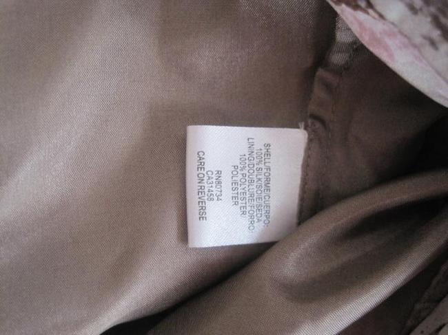 BCBGMAXAZRIA Top Brown/Pink