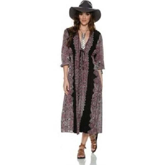 Maxi Dress by Free People Azaelea Printed Maxi Sz 2 Xs New Without Tags