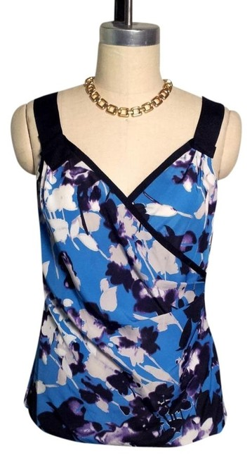 Preload https://img-static.tradesy.com/item/420245/elie-tahari-blue-black-purple-white-floral-tank-blouse-size-8-m-0-0-650-650.jpg