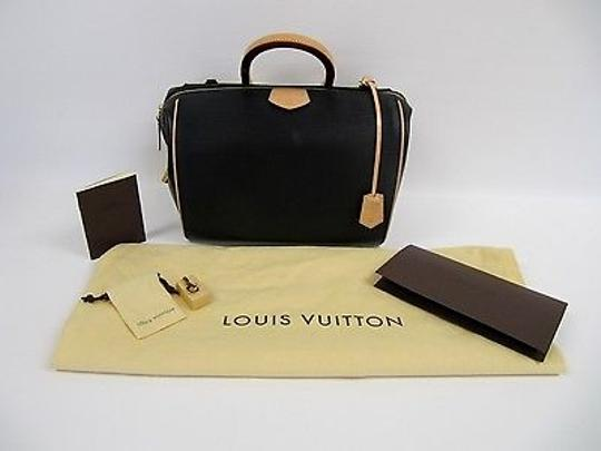 Louis Vuitton Doc Pm Noir Handbag W Strap Purse Satchel in Black
