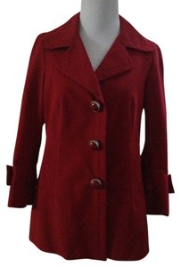 GERARD DAREL Casual Dressy Raspberry Sporty Raspberry Red Blazer
