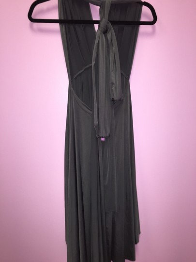 Black Convertible Jersey Wrap Dress Dress