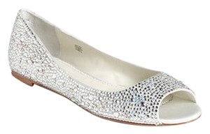 Benjamin Adams Wedding Sparkle Silver Flats