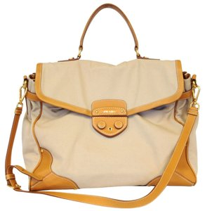 Prada Messenger Vela Satchel Doctor Cross Body Bag