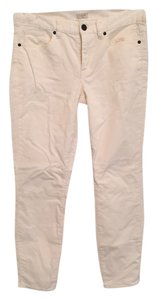 J.Crew Skinny Pants White courduroy