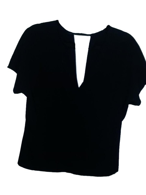 Zara Date Top Black