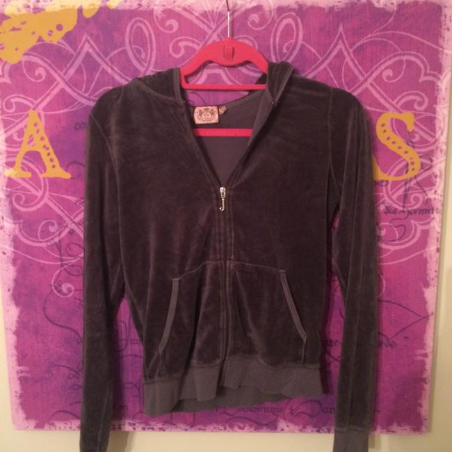 Preload https://item4.tradesy.com/images/juicy-couture-gray-green-and-yellow-zipup-sweater-sweatshirthoodie-size-4-s-4205263-0-0.jpg?width=400&height=650