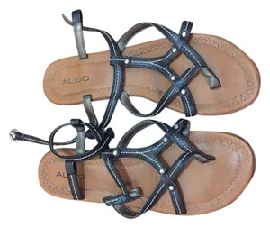 ALDO Gladiators Flats Summer Black Sandals