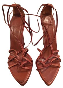 Saint Laurent Ysl 6 36 Tan Sandals