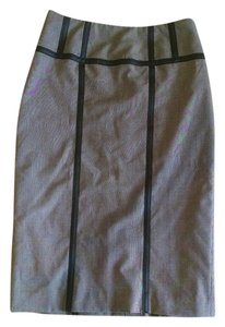 Worthington Pencil Leather Skirt Brown