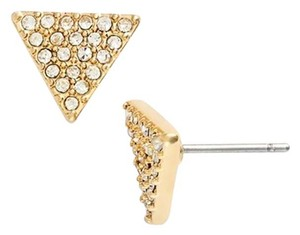 Ralph Lauren Crystal Pave Triangle Stud