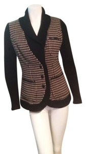Plenty by Tracy Reese Beige, Black Blazer