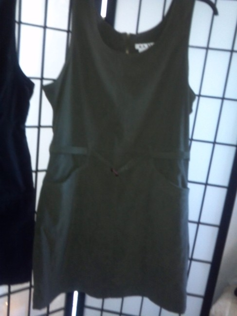 Ami short dress Olive on Tradesy
