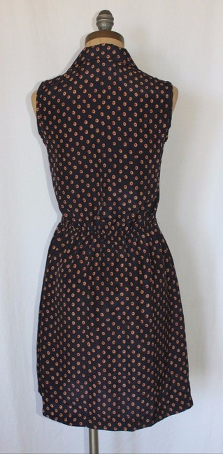 Anthropologie short dress MULTI COLOR Willow And Clay Printed Cut Out Knot on Tradesy