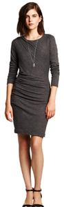 Banana Republic Assymetrical Ruching Comfortable Dress