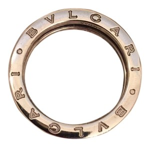 BVLGARI Bulgari Save the Children Silver and Black Ceramic Ring