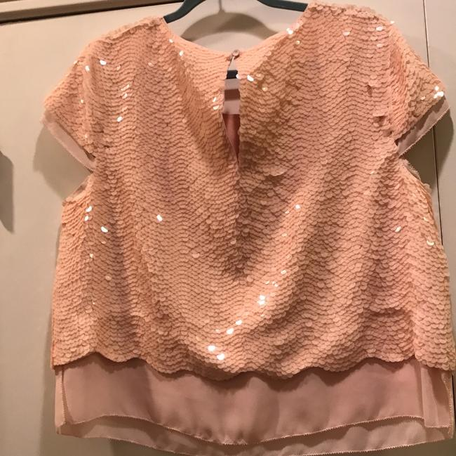 BCBGMAXAZRIA Top Rose