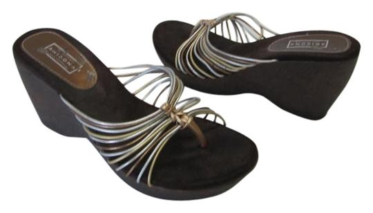 Arizona Condition Size 8m SILVER, GOLD, BRONZE, BROWN Wedges