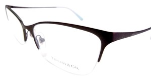 Tiffany & Co. Titanium Semi-Rimless Eyeglasses