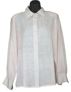 GALLANT New York Silk Pink Button Down Shirt