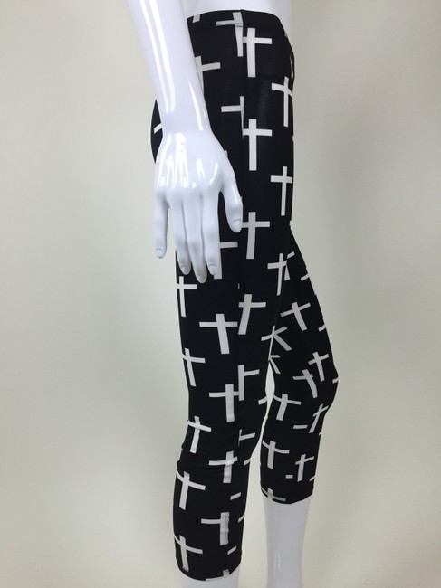 Other Cross black, white Leggings