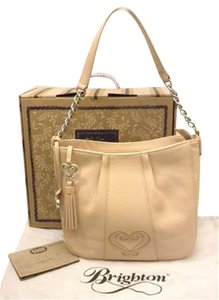 Brighton Gena H35020 ;leather Heart Gena Heart Shoulder Bag