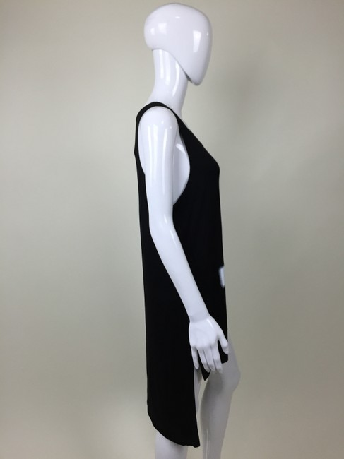 Other Tunic Cross Top black, white