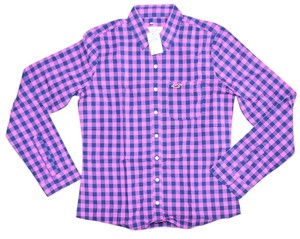 Hollister Longsleeve Button Down Shirt Multi-color
