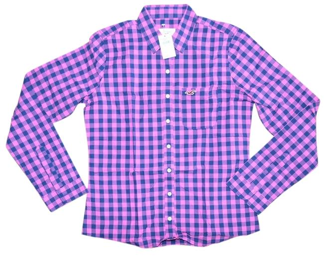 Hollister Longsleeve Shirt Button Down Shirt Multi-color