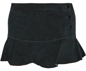 Isabel Marant Mini Skirt Brown suede