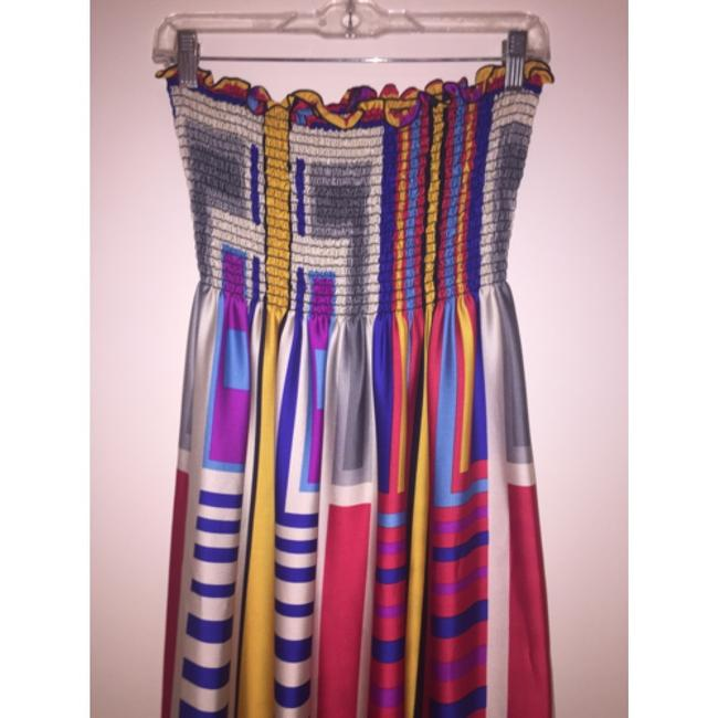 Multicolor Maxi Dress by Rubber Ducky Productions, Inc.