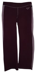 Athletic Pants Burgundy