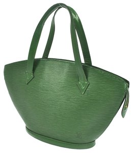 Louis Vuitton Epi Leather Tote in Green