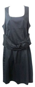 Camomilla Milano short dress Italia Stretch Cotton Navy on Tradesy