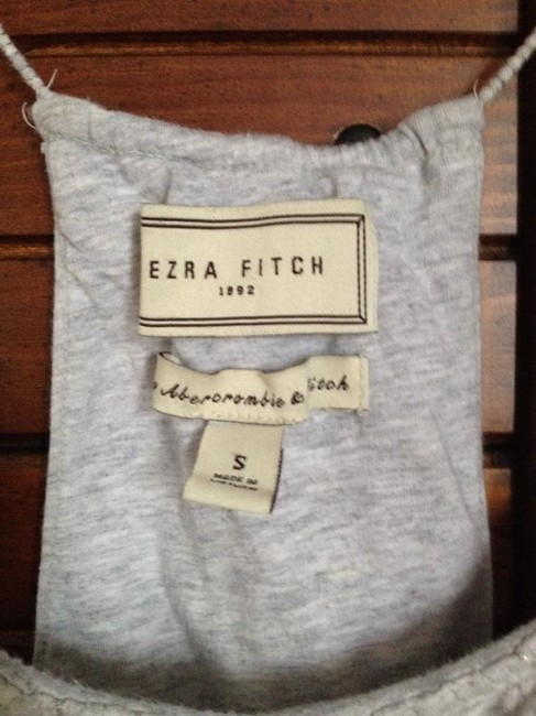 Abercrombie & Fitch Top grey