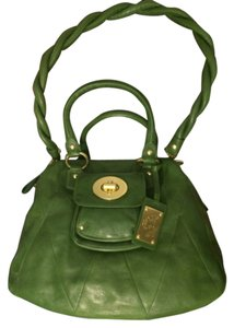 Coach Leather Limited Edition Vintage Green Messenger Bag