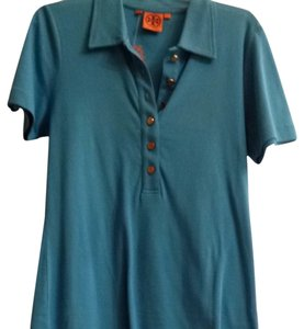 Tory Burch T Shirt Turquoise