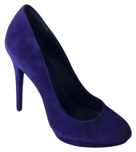 B Brian Atwood Fredrique Purple Platforms