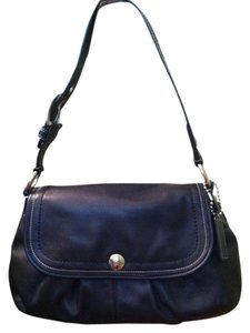 Coach Leather Handbag Shoulder Bag