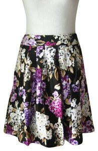White House | Black Market Floral Pleated Skirt