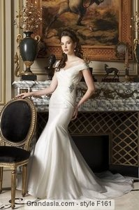 Jasmine Bridal F161 Wedding Dress