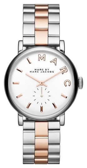 Marc by Marc Jacobs Marc by Marc Jacobs Women's Baker Two-Tone Stainless Steel Bracelet Watch 36mm MBM3312