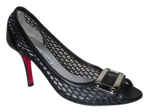 Luciano Padovan Leather black Pumps