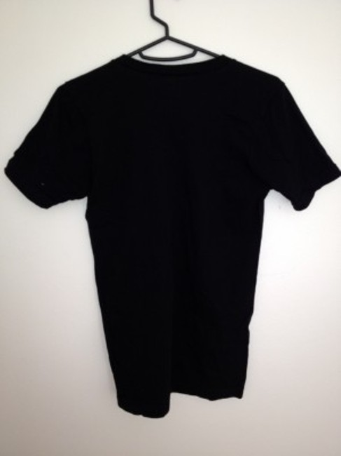 American Apparel T Shirt Black and gold