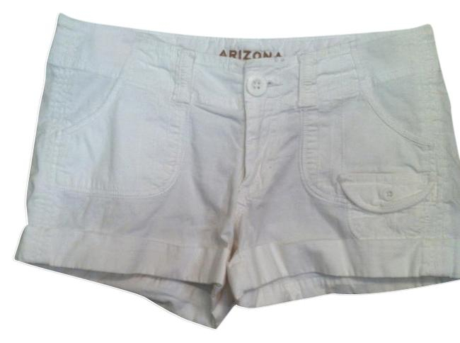 Preload https://item4.tradesy.com/images/arizona-jean-company-white-cuffed-shorts-size-4-s-27-421098-0-0.jpg?width=400&height=650