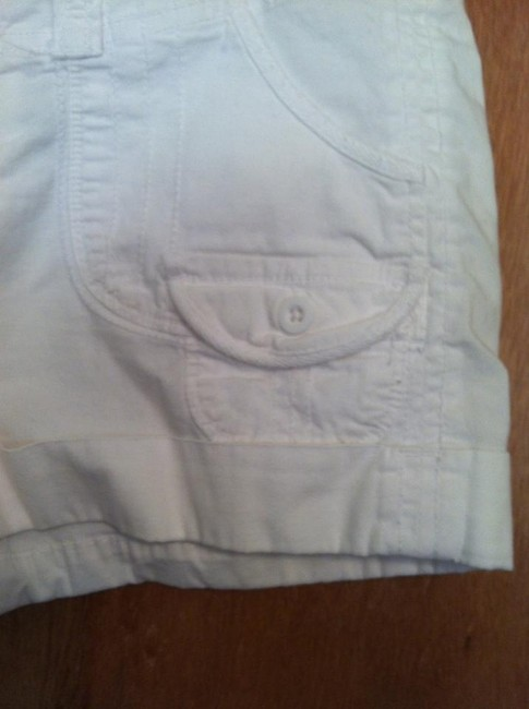 Arizona Jean Company Cuffed Shorts White