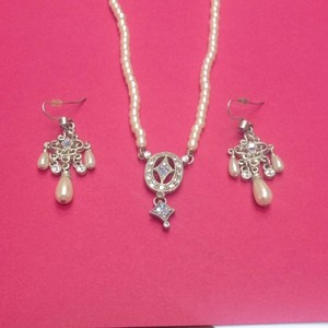 1928 Pearl 1928 Necklace And Earring Set